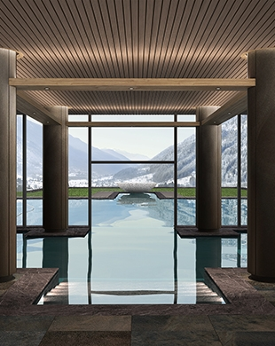 Lo Studio Apostoli incaricato dell interior design del nuovo Lefay Resort e SPA Dolomiti