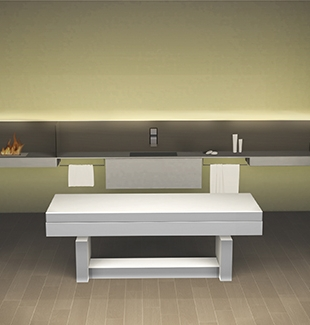 ''Etereo'': The architectural system that redefines the idea of furniture for SPA.