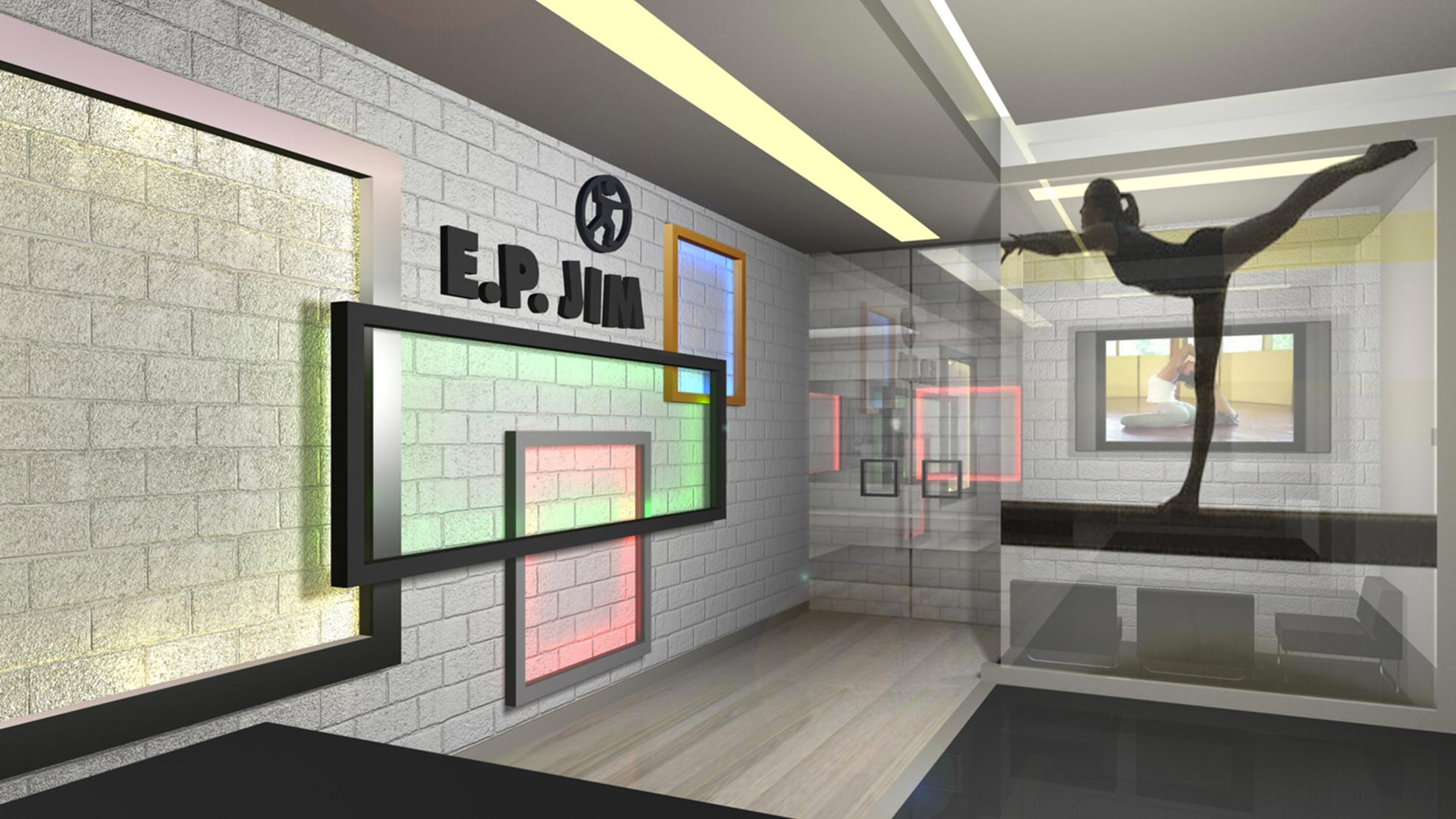 Designing gyms - Fitness Club E.P Jim 2