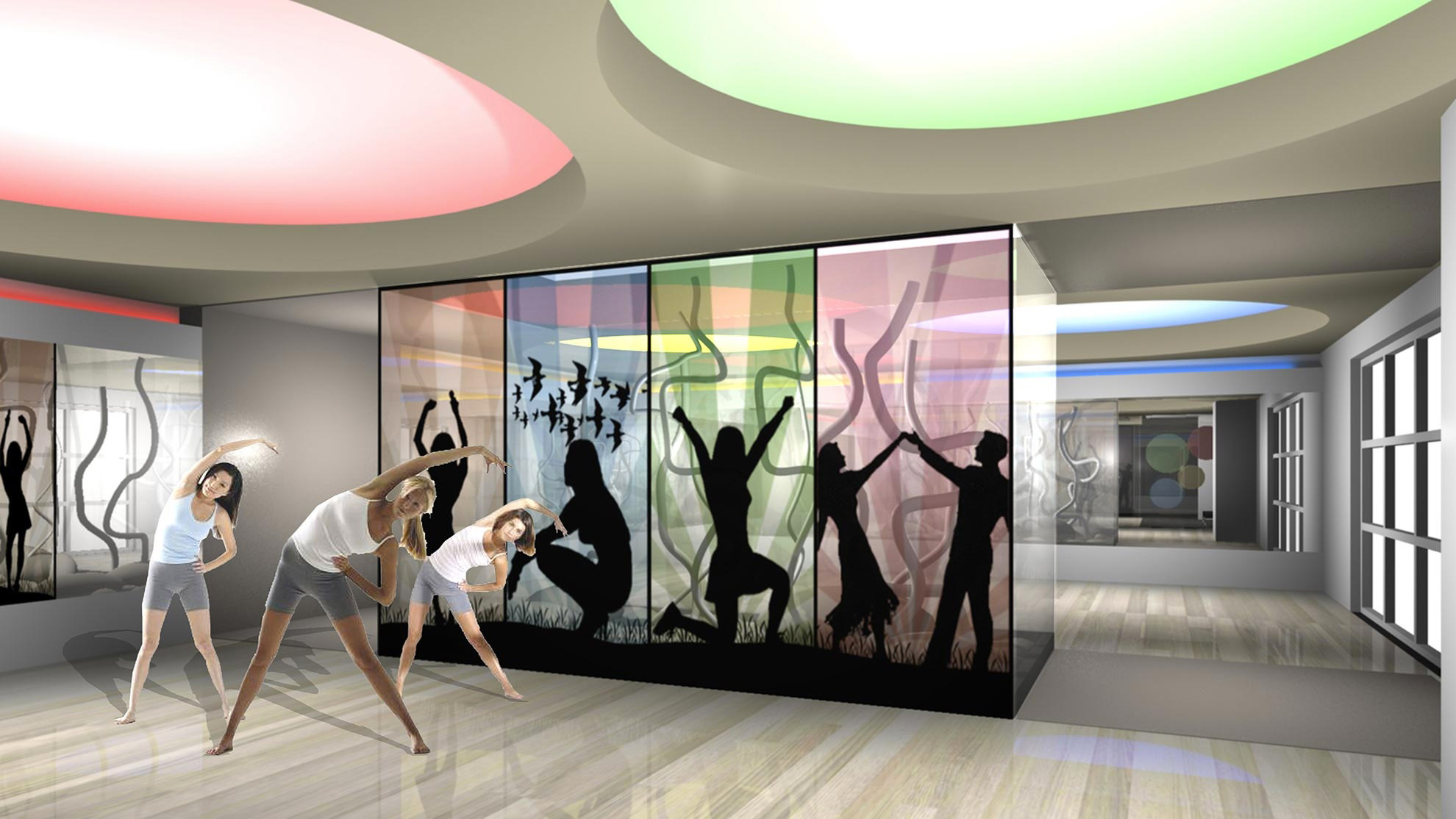 Designing gyms - Fitness Club E.P Jim 4