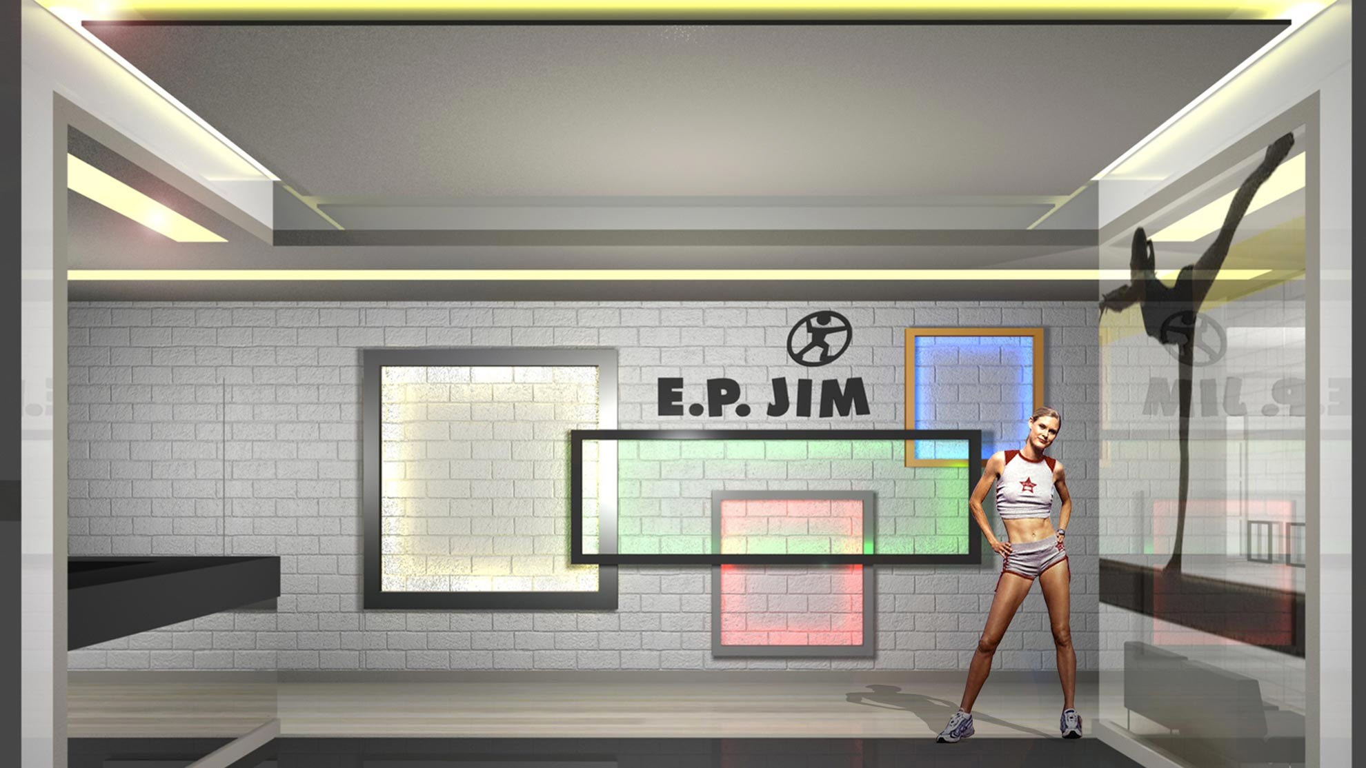Designing gyms - Fitness Club E.P Jim 1
