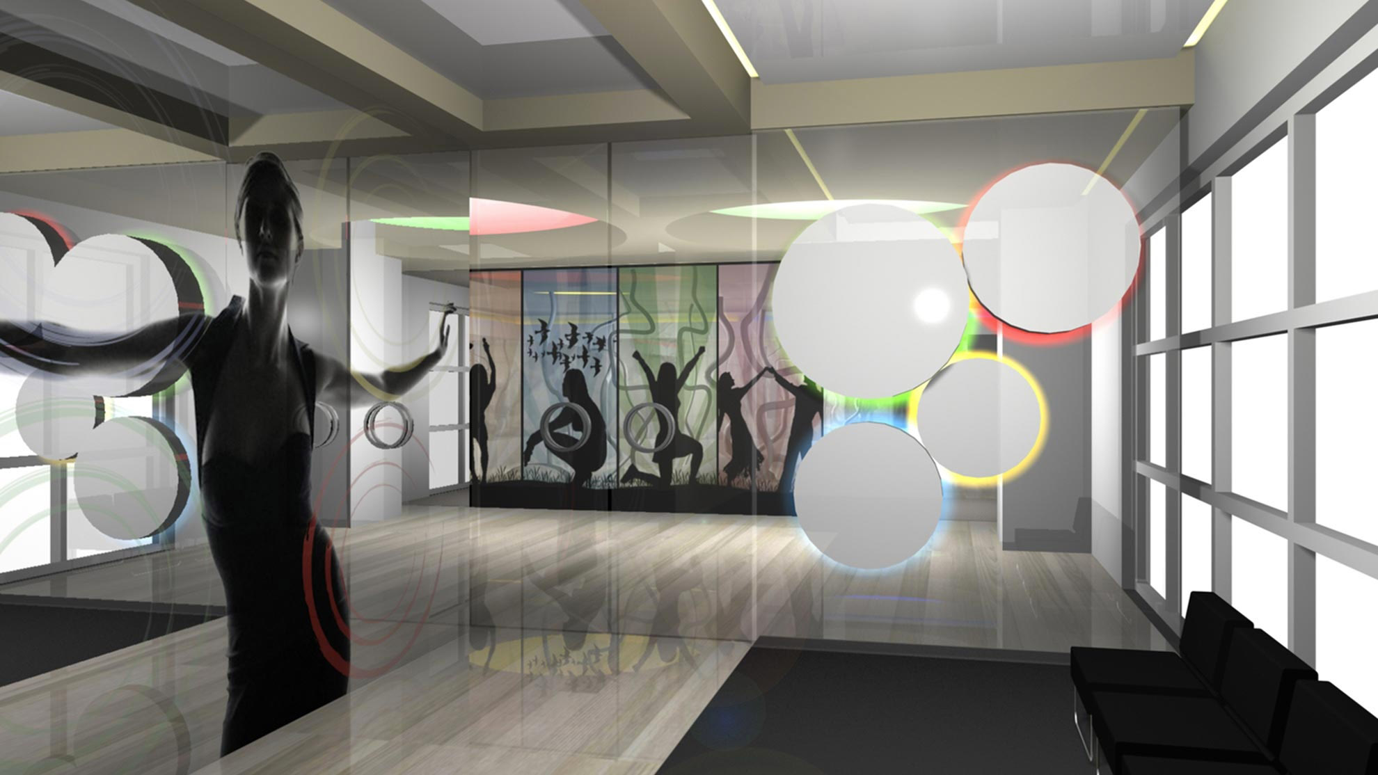 Designing gyms - Fitness Club E.P Jim 3