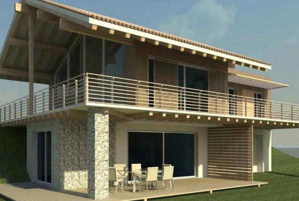 Wood Private Villa  - Progetto villa