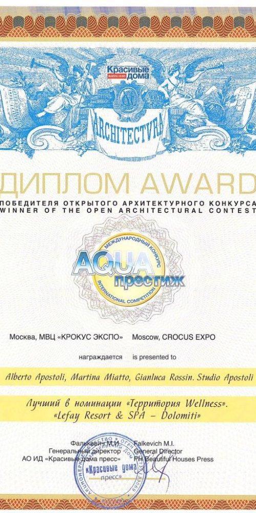 Aqua Salon Contest