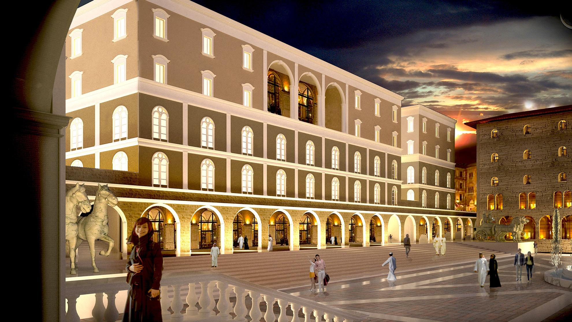 Concept cittadella - Civitas Bella