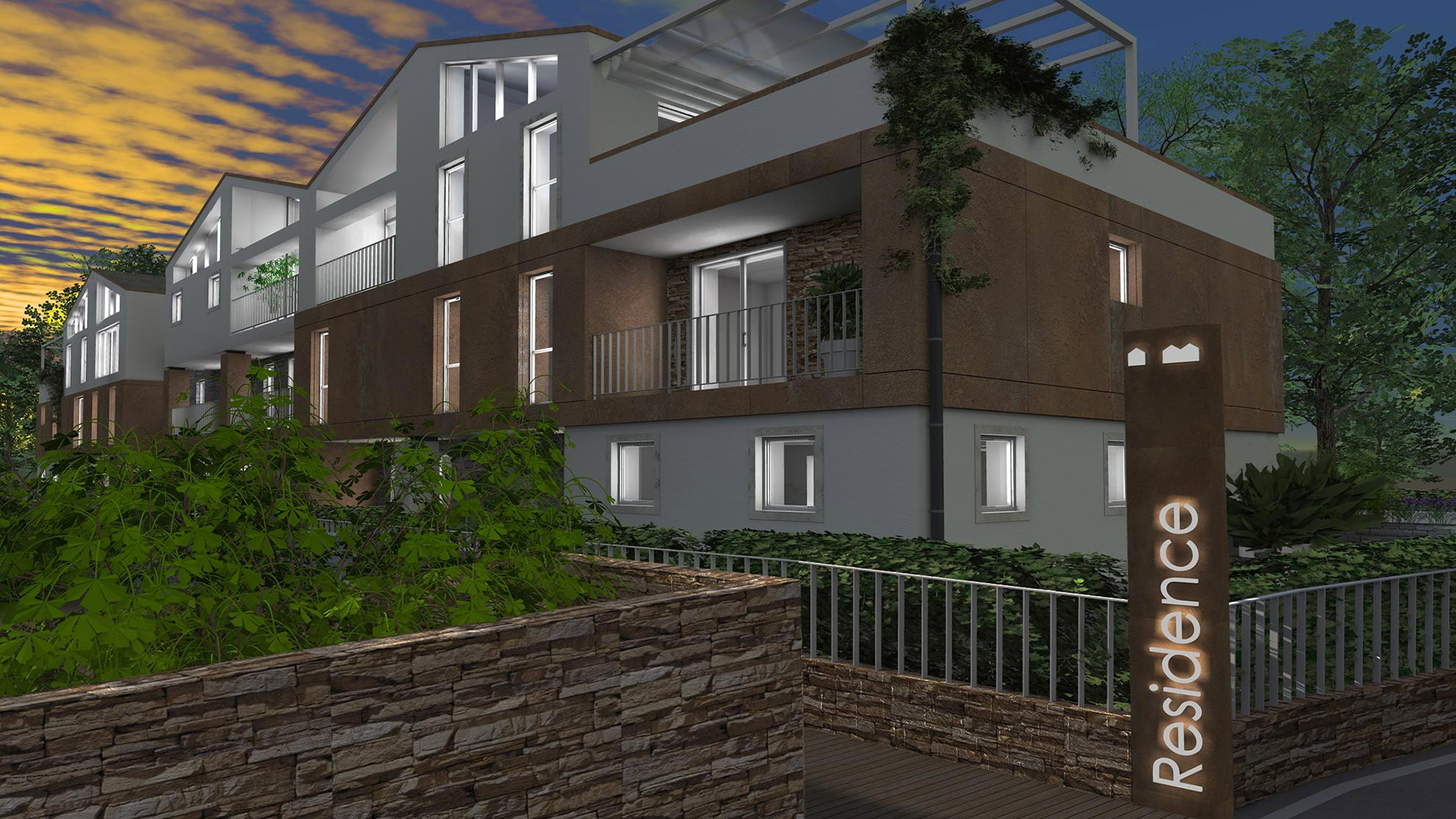 Residence Aquila - Progettazione edifici